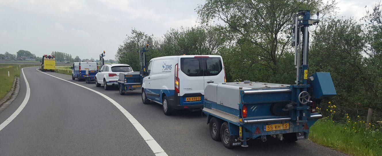 Siems Wegenbouwlaboratorium - Verhuur mobiel wegenbouwlaboratorium